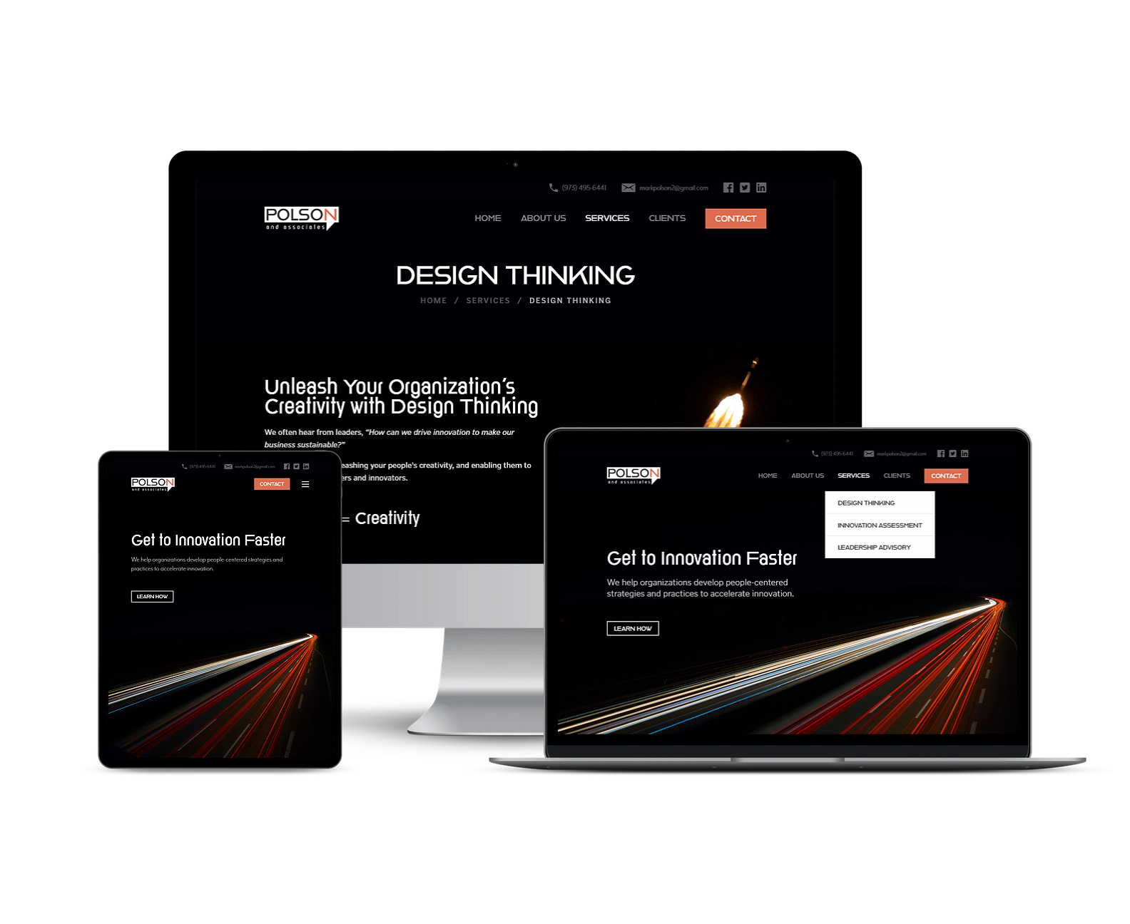 Polson & Associates Mixed Devices Responsive Design