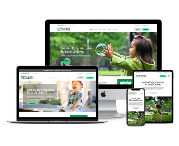 Preschool Advantage Responsive Web Design